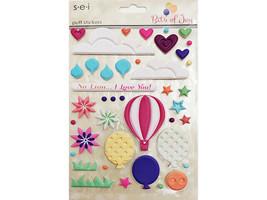 SEI Bits of Joy Puff Stickers #5-3160