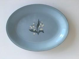 Vintage Homer Laughlin Skytone Blue Mist Platter - $18.00