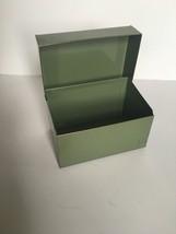 Vintage Ohio Art Co. (Bryan)  Green Recipe Tin ... - $8.00