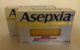 ASEPXIA Regen { Limpieza Total } 100g x 2 bars of acne fighting soap NEW... - $12.50