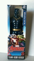 "NIB 2015 MARVEL TITAN HERO SERIES BLACK PANTHER 12"" ACTION FIGURE BY HASBRO - $24.99"