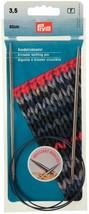 PRYM 212134 Circular knitting needles, 80cm, 3.50mm, silver-coloured,brass - $15.03 CAD