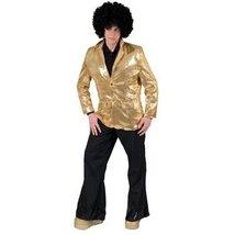 Disco Jacket Gold Adult Standard - $59.64