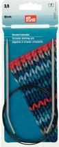 Prym 211249 Circular knitting needles, aluminium, 80cm, 3.50mm, grey - $10.36 CAD