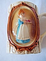 Collectible Mug Sears Roebuck & Co. 1978 Colonial Gingham Woman - $15.99
