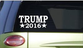 Trump 2016 *I165* 8 inch long Sticker decal republican election president bumper - $3.74