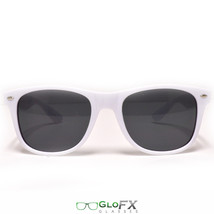 White Sunglasses plain regular normal popular style fashion cool outfit - $11.99