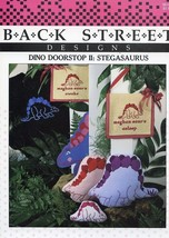 Dino Doorstop II: Stegasaurus Cross Stitch Pattern - 30 Days To Shop & Pay! - $1.77