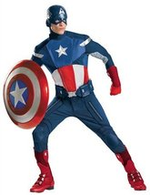 Disguise 43696PLDI Mens Plus Size Theatrical Quality Avengers Captain Am... - $260.47