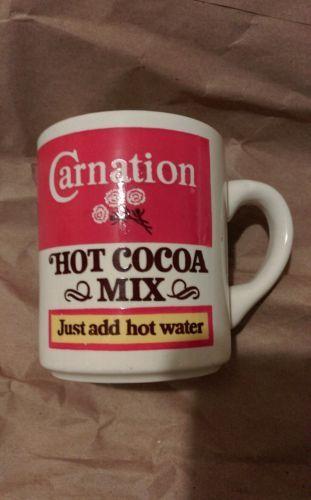 Vintage Carnation Hot Cocoa Mix Mug Cup Usa And 45 Similar Items