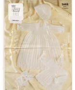 Baby Christening Gown and Dress Bonnet Booties ... - $11.99