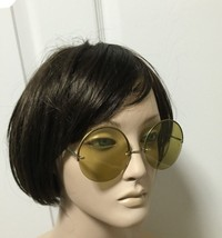 VTG Ben Hur Chameleon Big Round Sunglasses 4 Pairs of Interchangeable Lenses image 6