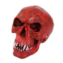 Red Vampire Cool Skull Collectible Figurine - $23.75
