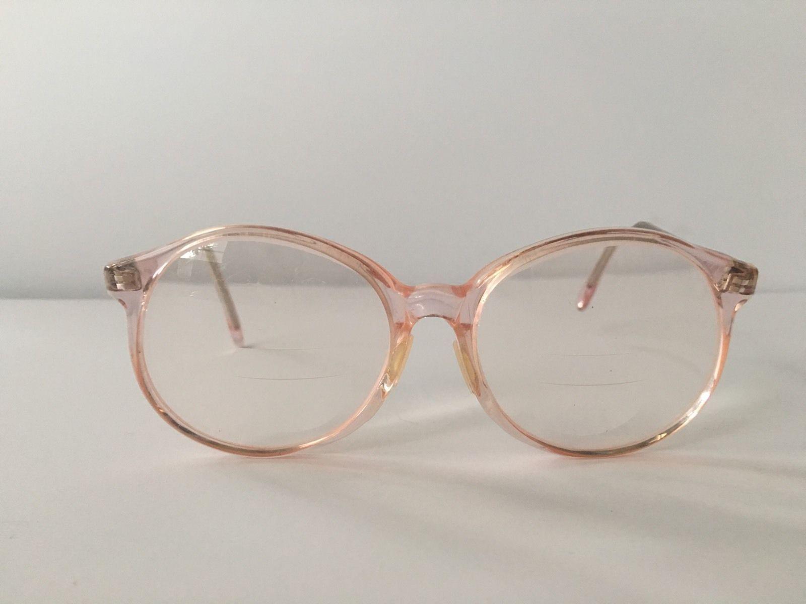 Vintage Hipster Peach Eyeglasses by Pathways Optone Made ...