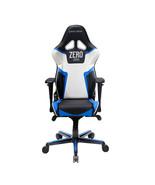 DXRacer OH/RV118/NBW/ZERO High-Back Gaming Chair Vinyl+PU(Black/Blue/White) - $369.00