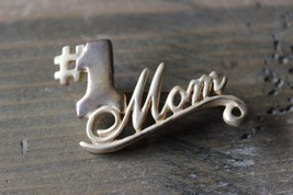 #1 Mom Brooch Pin - $9.90