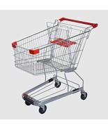 4.4 Cubic Foot 125 L Shopping Cart Grocery Supermarket Store Cart 16001 - $182.16