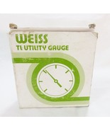 Weiss instruments 3 1/5 inch scale TL utility gauge psi 504-01 - $27.72