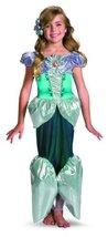 Ariel Shimmer Deluxe Costume - Medium (7-8) - $37.32