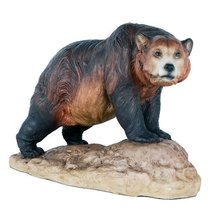 Grizzly Bear North American Bear Country Wildlife Collection Figurine De... - $23.76