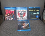 Concussion Heat Dead In Tombstone House Of wax Blu-ray lot Brand New