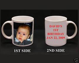 Custom Ceramic Photo Coffee Mugs 11oz Personalized Gift - $16.99