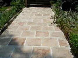 """6 DIY Concrete Castle Stone Patio Paver Molds 12x12x1.5"""" Make 100s For Pennies image 2"""