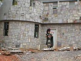 """6 DIY Concrete Castle Stone Patio Paver Molds 12x12x1.5"""" Make 100s For Pennies image 3"""