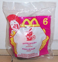 1998 McDonalds Haunted Halloween Hamburglar Happy Meal Toy #6 MIP - $5.00