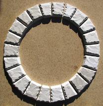 "15 Keystone Paver Molds Make 1000s Of Concrete Cobblestone Pavers 6x5x3x1.5"" image 2"