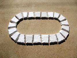 "15 Keystone Paver Molds Make 1000s Of Concrete Cobblestone Pavers 6x5x3x1.5"" image 3"