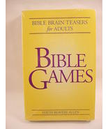 4 Pack Books Bible Games Brain Teasers Quizzes Puzzles Crossword Word Se... - $12.99