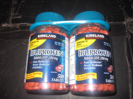 Ibuprofen Pain Fever Reducer (Nsaid) 200mg Kirkland 2-500 Tablets - $13.38
