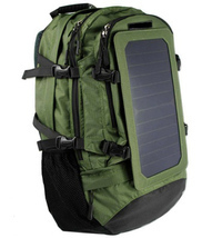 Solar Backpack with 6.5W Mono Crystalline High Efficiency Solar Panel    - $2.425,81 MXN
