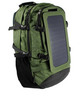 Solar Backpack with 6.5W Mono Crystalline High Efficiency Solar Panel    - $156.30 CAD