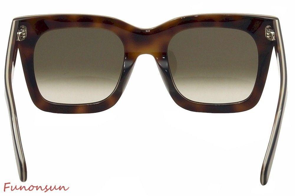 1459abc06d4 Celine Luca Women s Sunglasses CL41411 273 Blue Beige Brown Gradient Lens