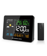 DIGOO DG-TH8788 WIFI Weather Station APP Remote Setting Automatic Connec... - $63.40