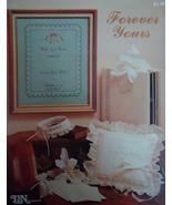 1 Vintage 1982 T&N Designs Leaflet Forever Yours Cross Stitch Leaflet Pa... - $6.99