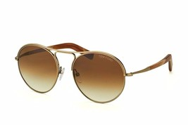 Tom Ford Jessie Men's Sunglasses FT449 33F Bronze/Brown Gradient Lens Round - $247.35
