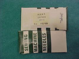 30 Organ Sewing Machine Needles 15x1 #18 Ball Point - $6.99