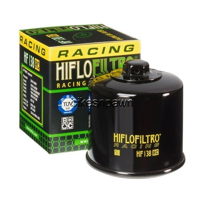 HiFlo HiFloFiltro HF138RC  Racing Oil Filter for Aprillia Artic Cat Kymco Suzuki