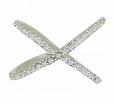 New Designer 925 Sterling Solid Cubic Zirconia Solid Gemstone Silver Rin... - €5,41 EUR