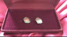 multicolored shell motif earrings clip on - $19.99