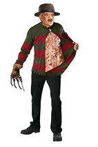 Freddy Krueger Sweater with Chest Of Souls - Standard (Fits Up To 44 Jac... - $40.51