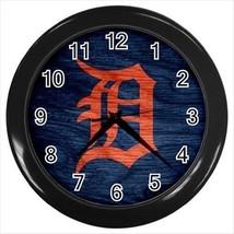 Detroit Tigers Wall Clock (Black) - MLB Baseball - $17.41