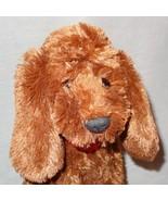 """Brown Dog Puppy Scarf Breast Cancer Plush Stuffed Animal 14"""" Gund Macys ... - $25.50"""