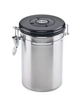 Food Storage Container Friis 16Ounce Coffee Vault Stainless Steel 16-Ounce - £18.49 GBP