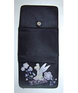 Women's Black Tri Fold Tinkerbell Wallet - $9.99