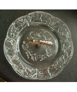 Kingston Crystal and Silverplate Candy Dish Pet... - $6.00