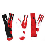 Alabama Crimson Tide 3 Piece Sports Performance Sock Bundle - $29.95